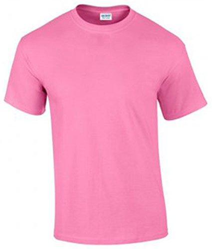 Gildan Herren Ultra Cotton T-Shirt Kurzärmlig Mehrfarbig - Azalee