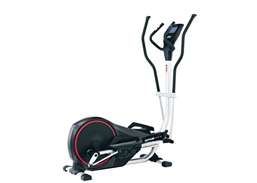 Kettler Unix EX BLACK – Cross-Trainer (150 kg, Drive Disk/Ribbed Belt, Black, 22 kg, Chest Belt, Hand Grip Sensors) (Kettler Heart-rate)