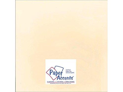 (Accent Design Papier Akzente cdstk glatten 12x 1275# Manila)
