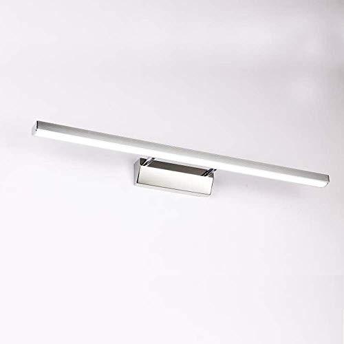 XIAJIA -7W 700LM Lámpara LED de pared, Lámpara de espejo Aplique de Baño LED 400mm 6000K para Espejo...
