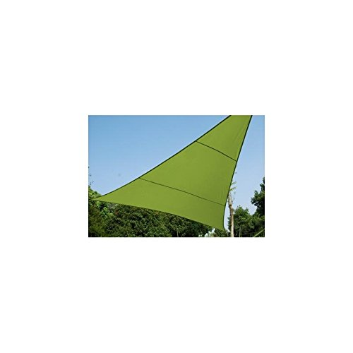 Voile d'ombrage Triangulaire (L5m) Curacao Vert