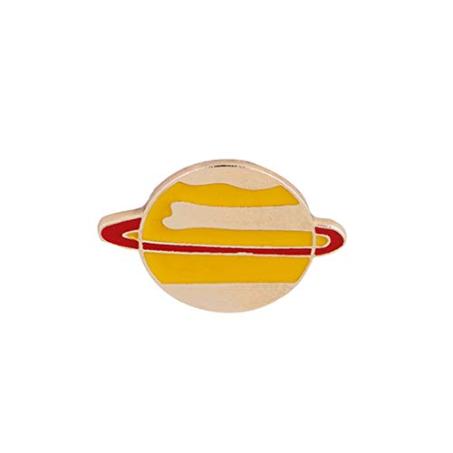 NYAOLE Emaille Pin Astronaut Roboter Planet Space Shuttle Universe Kriegsführung Brosche Schmuck Kleidung Dekoration, 1*, As description