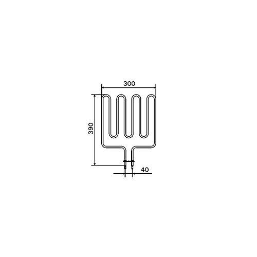 HARVIA HEIZELEMENTE ZSK-700 (2.0 kW) | ZSK-710 (2.67 kW) | ZSK-720 (3.0 kW) (ZSK-700 (2.0 kW))