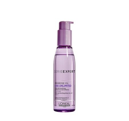 L'Oreal Professionnel Serie Expert Liss Unlimited Evening Primrose Oil - 125 ML X2 (Pack Of 2)