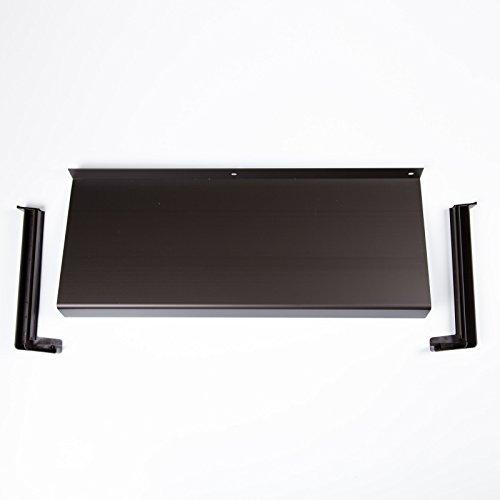 Hochwertige Fensterbank aus Aluminium, braun 1000 x 210 mm