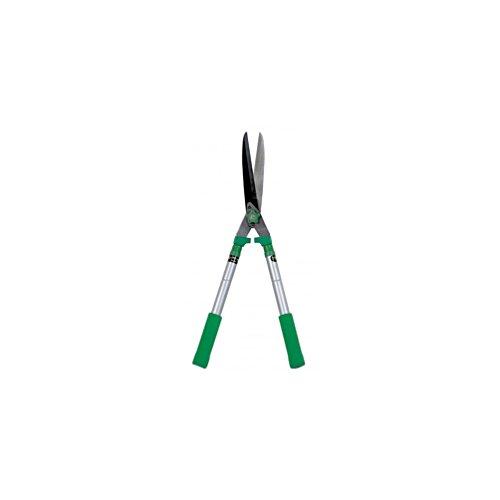 ribiland prcht64 tagliasiepi con manico soft-touch, 64 cm, verde/grigio