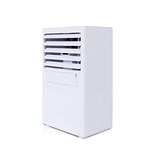 Mini-Klimaanlage, kleiner Luftbefeuchter mit tragbarem Griff, Fernbedienung und LED-Anzeige, 3 Lüfterstufen für zu Hause oder im Büro (Kleines Zimmer Luftbefeuchter Für Zu Hause)