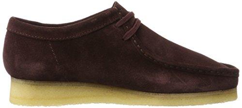 Clarks Originals Herren Wallabee Lace-Up Schuhe Violett (BURG Suede)