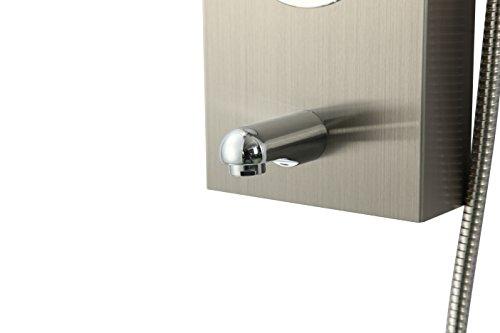 Dp bath cf 8605 colonna doccia idromassaggio acciaio inossidabile