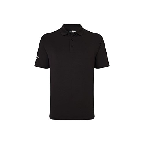 Callaway Classic Chev Solid Polo Short Sleeve T-Shirt Blau - Caviar