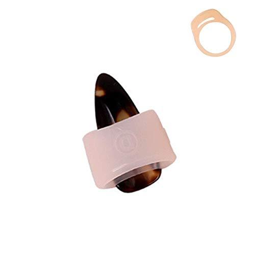 SparY Nagel Abdeckung, Maniküre Ring Guzheng Übungs Kinder Zubehör Tragbar Spielkarten Chinesische Zither Elastisch Silikon Erwachsene Weich Schutz - Rechts, Small