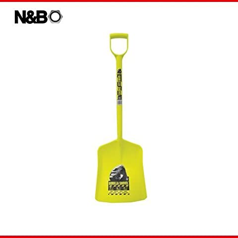 Tubtrugs One Piece Plastic Shovel: Yellow