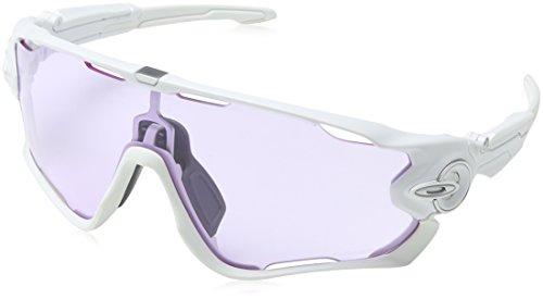 Oakley Herren Sonnenbrille Jawbreaker Weiß (Blanco)
