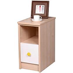 Mesita de Noche Ultra Estrecha Mini gabinete de Almacenamiento Simple Gabinete Simple de la habitación del Armario