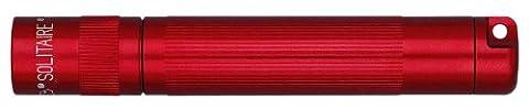 Mag-Lite Solitaire Mini-Taschenlampe, rot, 8 cm - Piombo Portachiavi