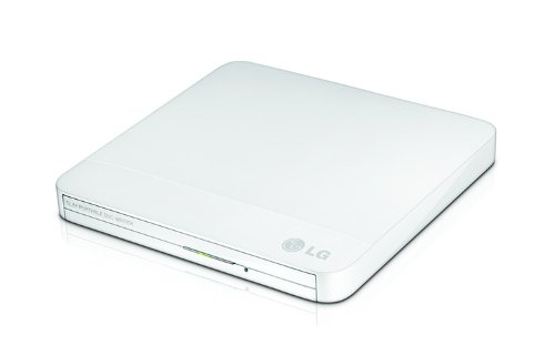 LG GP40NW40 - DVD-RW externo con USB, color blanco