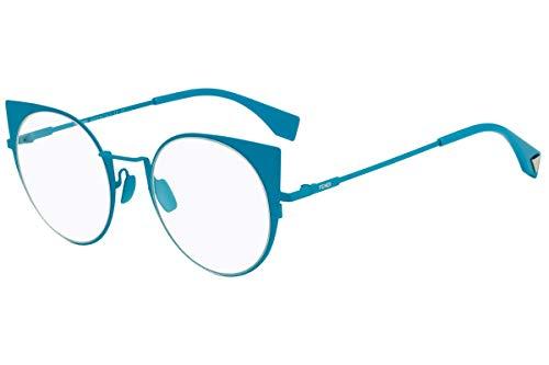 Fendi FF0192 Brillen 48-21-140 Blaue Mit Demonstrations Gläsern GHZ FF 0192