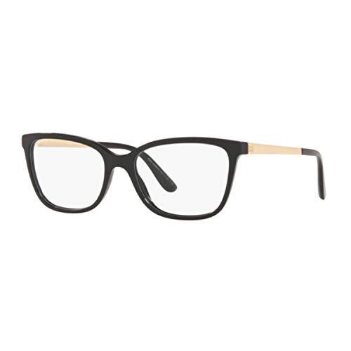 Ray-Ban Damen 0DG3317 Brillengestelle, Mehrfarbig (Black), 54.0