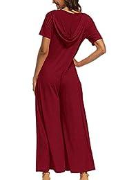 Amazon.it  taglie forti donna - M   Pantaloni   Donna  Abbigliamento 6a246c6b8c4