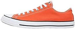 converse all star arancioni alte bambino