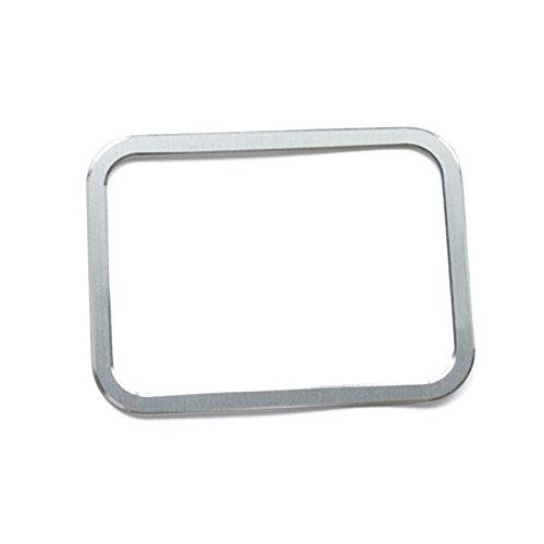 Aluminium Legierung Innere Elektronische Handbremse Rahmen Cover Trim 1 Für ML W166/GL X166 2012-2015 (Rahmen, Elektronische)