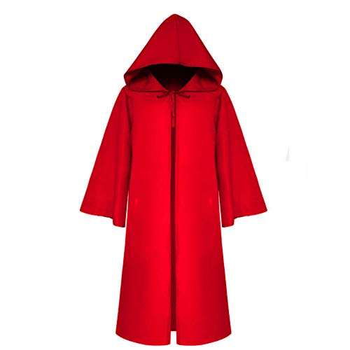 CAGYMJ Cosplay Halloween Herrenbekleidung,Festival Dunkler Erwachsener Kind Mehrfache Farben Teufel Umhang Kleidung,Ostern Kleidung Performances Kostümparty,Rot,ChildM (Rote Teufel Kostüm Männlich)
