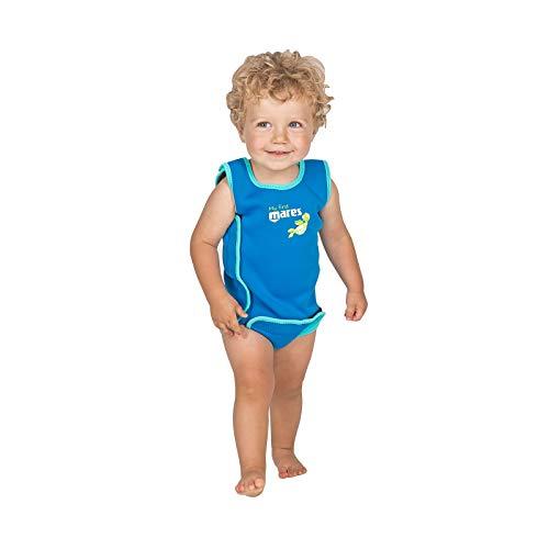 Mares Baby Wrap Kinder-Schwimmhilfe Schwimmanzug (blau, M (12-18 Months))