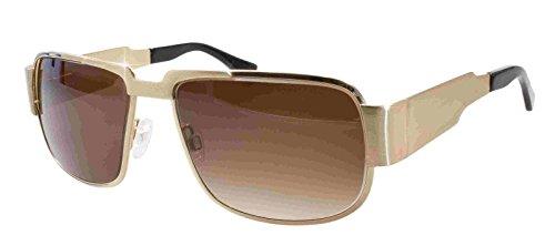 NAUTIC Elvis-Brille (gold) Original von (Elvis Presley Sonnenbrille)