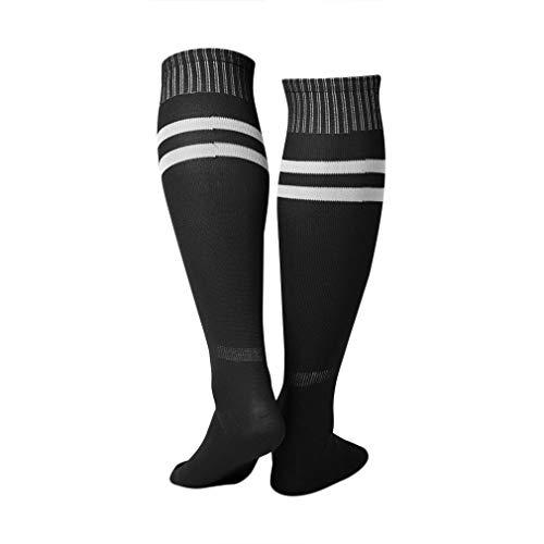 1 Paar Sportsocken Kniestrümpfe Legging Fußball Baseball Fußball über Knie-Knöchel-Männer Frauen Socken (über Knie-hosen-socken)