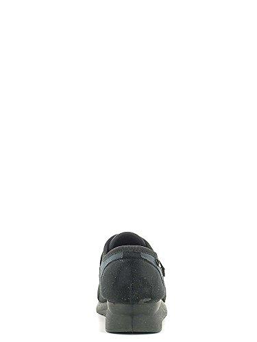 Grunland SC2918 Scarpa velcro Donna Nero