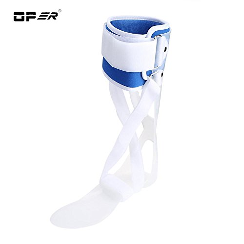 Knöchel Unterstützung, Fuß Tropfen Orthese Knöchel Tropfen Haltungskorrektur Klammer Orthese Schiene, FDA genehmigt(Right L) -