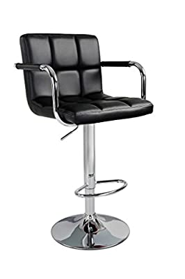 HNNHOME Havana Swivel Leather Breakfast Kitchen Bar Stools Pub Barstools - cheap UK bar stool store.