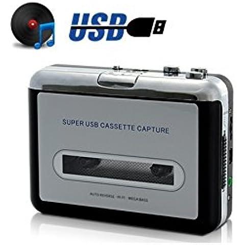 CONVERTIDOR CASSETTE A MP3