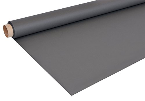 Bresser Fond en papier rouleau (1,35 x 11 m) gris charbon