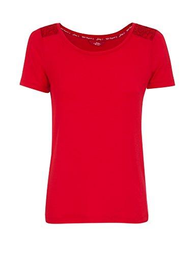 Jockey® Women T-Shirt Lipstick Red