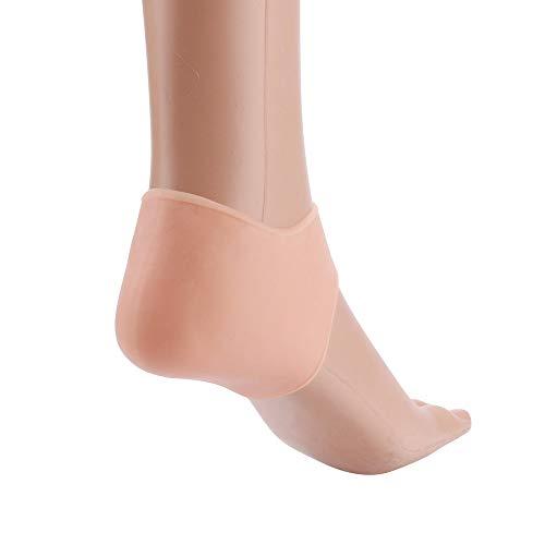 Feuchtigkeitsspendende Eyeliner (hahuha Schönheit  Dekompressionsspielzeug, 1 Paar Silikon Fuß rissige Pflege Werkzeug feuchtigkeitsspendende rissige Hautpflege Schutz)