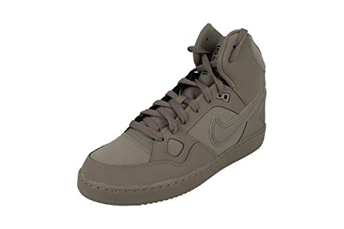 NIKE Son of Force Mid Herren Hi Hop 616281 Sneakers Turnschuhe (UK 9 US 10 EU 44, Gunsmoke Black 015)