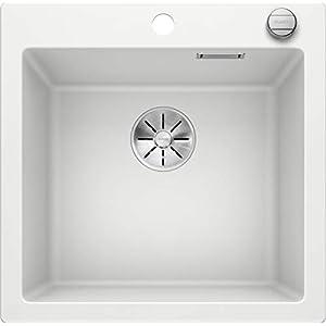 Blanco 523680pleon 55Silgranit Puradur Ultrasonido con mando a distancia, color blanco