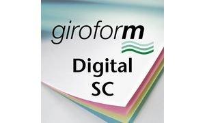 PAPYRUS 880207305 Durchschreibepapier Giroform Digital SC