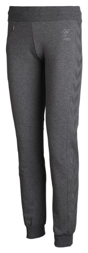Hummel Classic Bee Womens Tech Pants, Dark Grey Melange, M, 39-720-2008 -