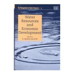 Water Resources and Economic Development (The Management of Water Resources Series, Volume 3) by R. Chambers (2002-03-31)