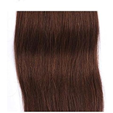 XQXHair Miglior videoclip Prime vendita nelle estensioni dei capelli 100% del Virgin del brasiliano dei (20 In 1 Kit)