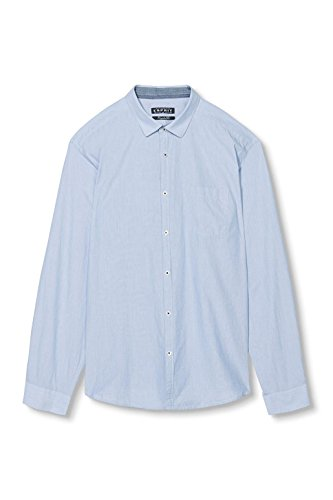 ESPRIT Herren Freizeithemd Blau (PASTEL BLUE 435)