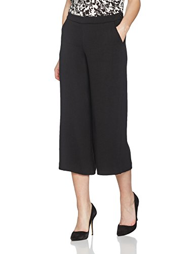 Mavi Damen Hose Gaucho, Schwarz (Black 900), 38 (Herstellergröße:M) -