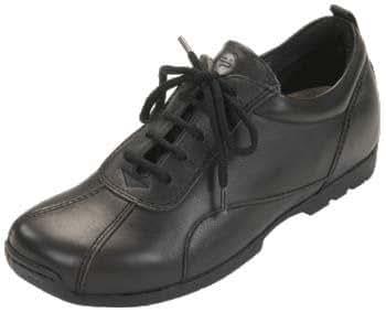 footprints chesterfield femmes chaussures cuir naturel noir2 taille 38 avec semelle normale. Black Bedroom Furniture Sets. Home Design Ideas