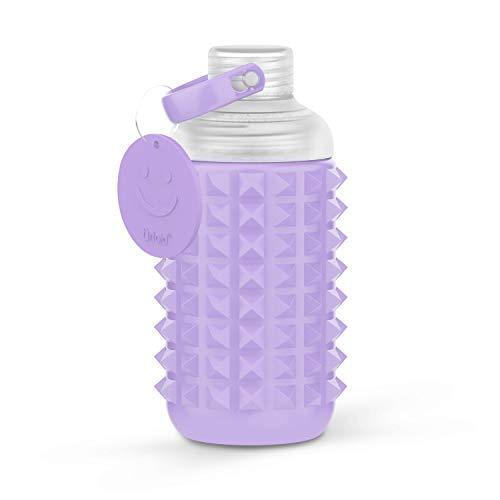 The Reason to Smile Botella de Agua Motivacional - 1 Unidad 32 oz Deportiva a Prueba de Polvo y Fugas - Logo Motivacional y Marcas de Tiempo infusi/ón Tritan 1000 ml sin BPA