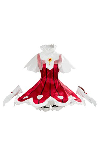 (Cardcaptor Sakura Cosplay Kostüm Ccs Clear Card Arc Sakura Rose Heart Rocket Beat Dress Damen XS)