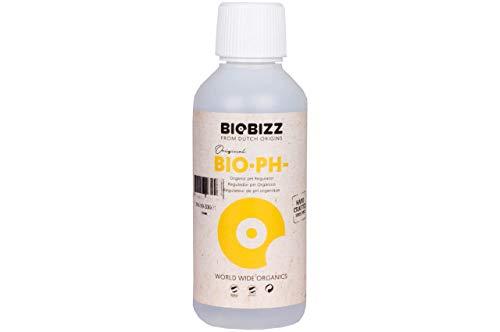Weedness BioBizz Bio pH- Minus 250 ml - Natürlicher Biologischer pH-senker Grow Anbau Indoor Dünger BioBizz Dünger ph Minus Flüssig