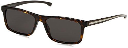 BOSS Hugo Herren 0920/S NR P0I Sonnenbrille, Braun (Dkhavn Crystal/Brw Grey), 54