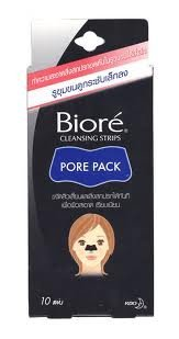 Biore Cleansing Nose Strips Pore Pack (Pack of 10 Pieces)